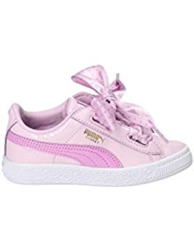 Puma Basket Heart Stars PS, Zapatillas para Niñas