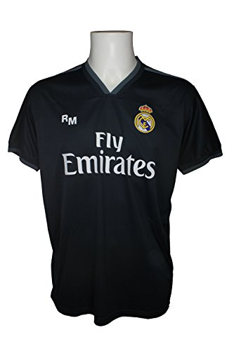 Real Madrid FC Camiseta Adulto Replica Oficial Segunda Equipación 2018 2019  (L) b0aca4a9a84f4
