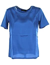 Max Mara T-Shirt Donna Weekend S Blu Holly Primavera Estate 2018 740bae9c560