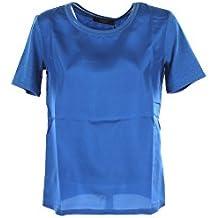Max Mara T-Shirt Donna Weekend S Blu Holly Primavera Estate 2018 29dfbf50fd