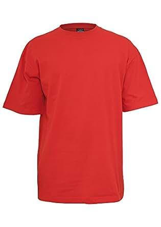 TB006 'Urban Classics' T-Shirt Tall Tee M-6XL (Various Colours), Größe:4XL;Farbe:red