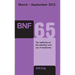 British National Formulary (BNF) 65 (Paperback)