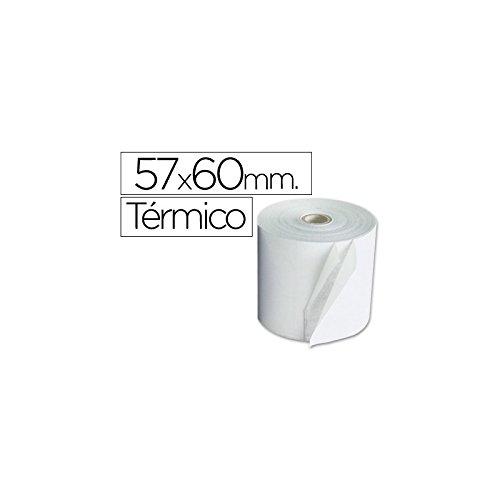 ROLLO SUMADORA TERMICO Q-CONNECT 57 MM ANCHO X 60