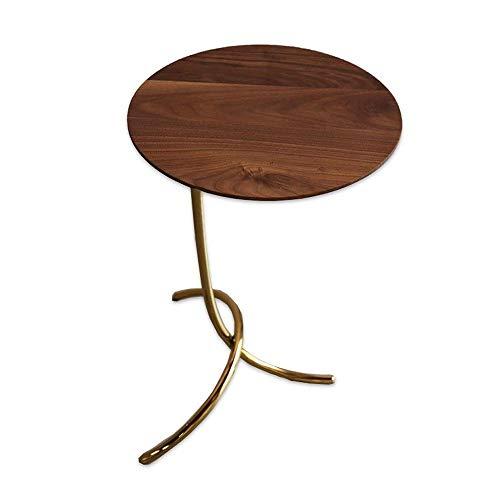HIZLJJ Modernes End Beistelltisch aus Holz Sofa, Stuhl, Nacht Couch Konsole Accent Tabellen-Night-Stand for Wohnzimmer Schlafzimmer -