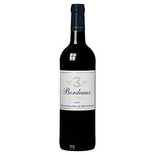 Baron Philippe de Rothschild Bordeaux AOC Rouge Merlot 2014/2015 Trocken (1 x 0.75 l)