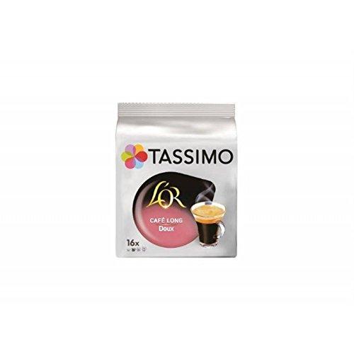 Tassimo l'or cafe long doux x 16 dosettes souples - Prix Unitaire - Livraison Gratuit Sous 3 Jours