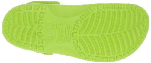 Crocs Classic, Sabots mixte adulte Vert (Volt Green)