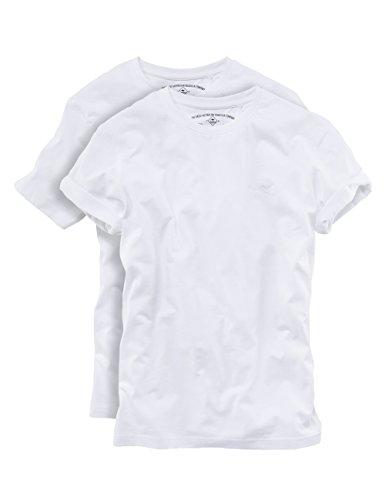 ROADSIGN australia 2er Pack T-Shirt Rundhals weiß Weiß