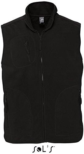 Sols - Fleeceweste 'Norway' - bis Größe 5XL 4XL,Black