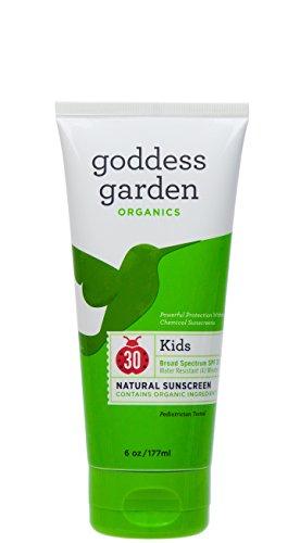 Organics Spf 30 Sunscreen (Goddess Garden Organic Sunscreen Kids Natural Spf 30 Lotion (1x6 Oz))