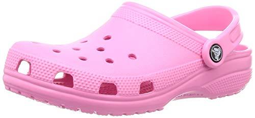 Crocs Classic Clog, Zuecos Unisex Adulto, Rosa Pink