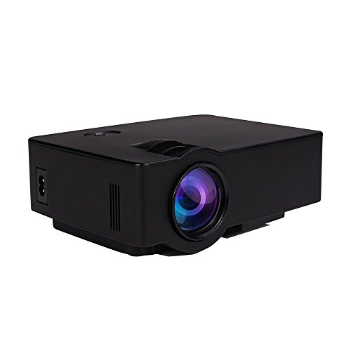 ARCHEER HD Proyector, Proyector Portatil 1080P HDMI / USB / AV / SD / VGA, para Cine en Casa, PS3 / PS4 / XBOX Juegos, iPhone, iPad, Mac Moviles Inteligentes de Android
