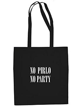 No Pirlo No Party - Stofftasche / Beutel