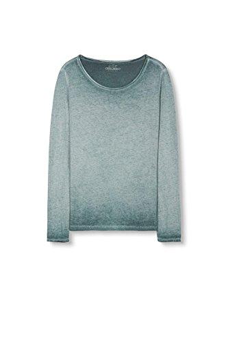 edc by Esprit 106cc1k025, T-Shirt Femme Vert (Dark Teal Green)