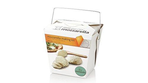 Käse Selber machen Set | Mozzarella | Käseset Geschenk zum selbst herstellen. Käseherstellung für zuhause kulinarische (Kit Machen)