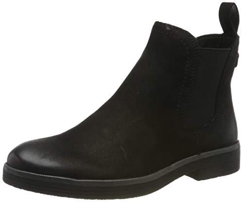 Tamaris Damen 1-1-25310-23 Chelsea Boots, Schwarz (Black 1), 39 EU