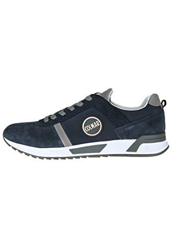 Colmar Chaussures à Lacets et Coupe Classique Homme Bleu Marine