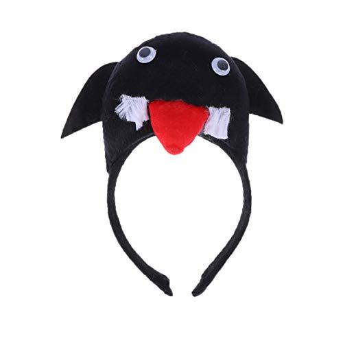 Kopfschmuck Kostüm Vogel - Amosfun tiere nettes stirnband 3d schwalbe vogel ohr haarband kopfschmuck für halloween kinder geburtstag party leistung kostüm cosplay prop