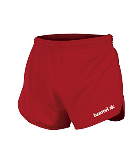 Luanvi Leichtathletik, Herren Shorts Gama L rot