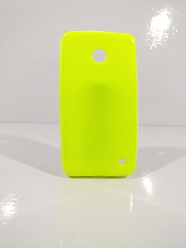 iCandy™ Colorfull Thin Soft TPU Back Cover For Nokia Lumia 630 - Parrot  available at amazon for Rs.99
