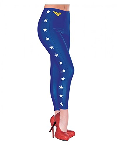 rte Wonder Woman Leggings als Cosplay Kostümaccessoires (Wonder Woman Kostüm Mit Leggings)
