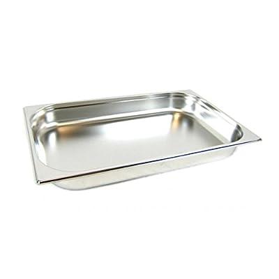 GN 1/1 Gastronormbehälter GN-Behälter Edelstahl 8,5 Liter Tiefe 65mm von airbrush-city