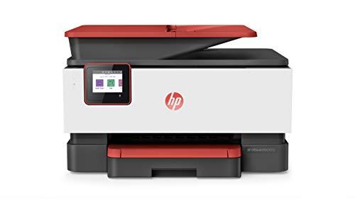 HP OfficeJet Pro 9016 Multifunktionsdrucker (Drucker, Scanner, Kopierer, Fax, WLAN, LAN, Duplex, HP Instant Ink, A4, HP ePrint, Airprint, mit 2 Probemonaten HP Instant Ink Inklusive) Coral -