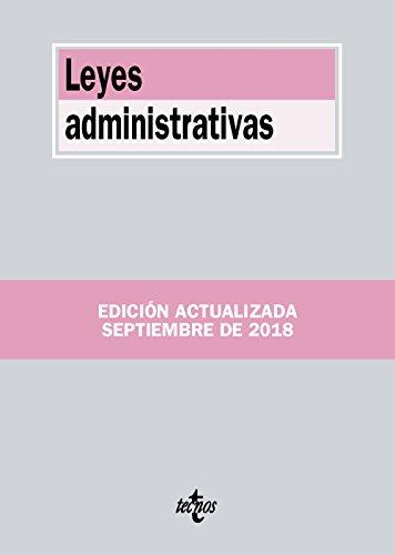 Leyes administrativas (Derecho - Biblioteca De Textos Legales)