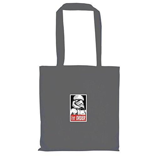 TEXLAB - SW: First Order Stormtrooper - Stoffbeutel, grau