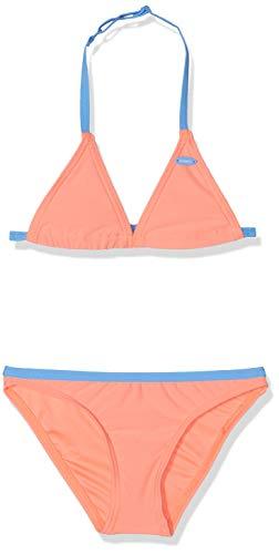O'Neill Mädchen PG Essential Bikini Set, Gelb All Over Print, 128 - Essential Triangle Bikini Top