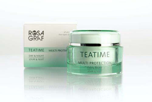 Grüner-tee-creme (Rosa Graf Tea Time Day & Night 50 ml)