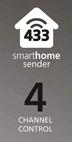 Smartwares SmartHome Funk-Fernbedienung 4-Kanal, SH5-TDR-F - 2