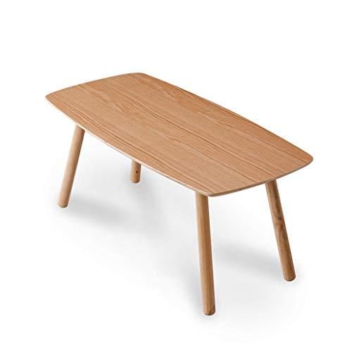 JKL- Notebookständer Einfacher nordischer hölzerner Kleiner Kaffee-Tee-Tisch für Sofa-Wohnzimmer-kleines Wohnungs-rundes Rechteck-ovaler speisender Schreibtisch (Size : F) (Tisch Kaffee Mit Stühlen Runder)