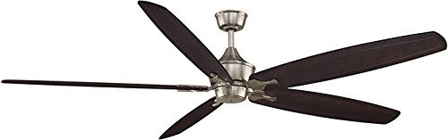 Fanimation MAD3252BN The Big Island with 60-80-Inch Sweep, Brushed Nickel by Fanimation -