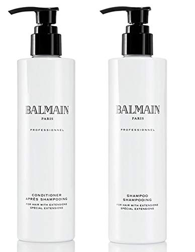 Balmain Duo Set Shampoo & Conditioner Hair Human Extensions Care
