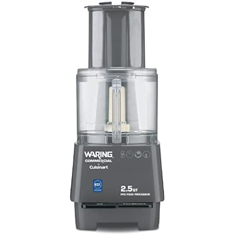 Waring Commercial FP25 Batch Bowl Food Processor, 2-1/2-Quart by Waring