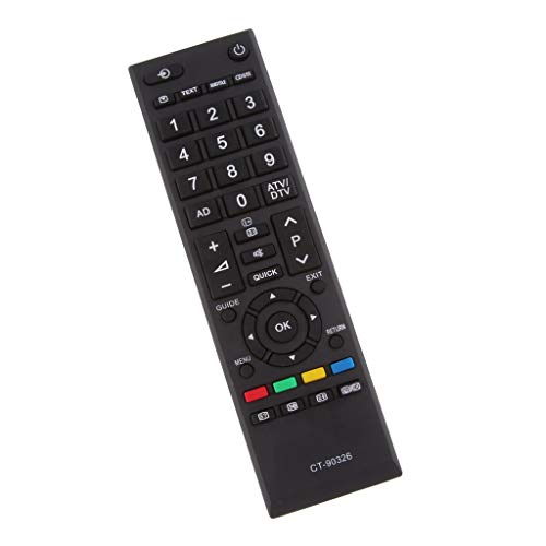 perfk Wireless Remote Control Keyboard für Toshiba TV CT-9032, Größe : 175 x 50 x 20 mm