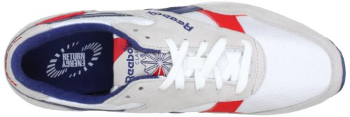 Reebok ERS 1500 J97917 Herren Sneaker Grau (WHITE/STEEL/CLUB BLUE/RED ATTACK)