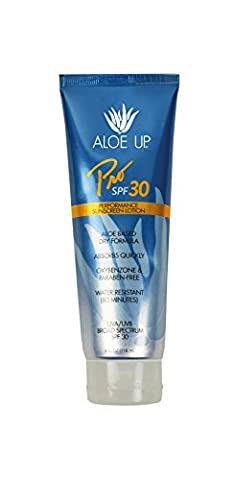 Aloe Up Sun & Skin Care Products Pro Series SPF 30 Sunscreen Lotion