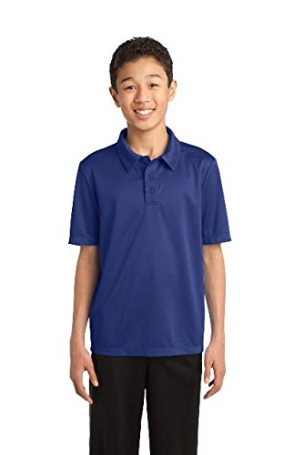Port Authority® Youth Silk Touch™ Performance Polo. Y540 Royal XS