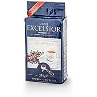 CAFFE' EXCELSIOR BOLLO BLU 100% ARABICA Macinato Espresso