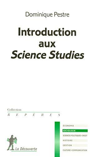 Introduction aux Science Studies