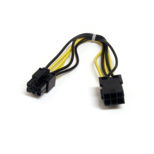 startechcom-pciepowext-cable-dextension-dalimentation-pci-express-6-broches-20-cm