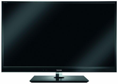 Toshiba 46WL863G 117 cm (46 Zoll) 3D LED-Backlight Fernseher (Full-HD, 800Hz AMR, DVB-T/-C/-S/-S2, CI+) schwarz Toshiba Hd-component-tvs