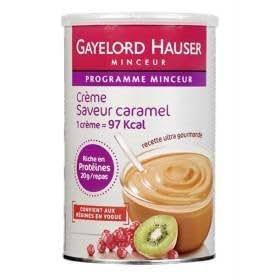 GAYELORD HAUSER - P04275654 - Mon Programme Minceur - Crèmes hyperprotéinés, saveur caramel - 350g