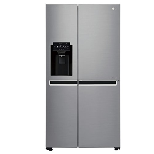 LG GSL760PZXV Side-by-side American Fridge Freezer With Ice And Water Dispenser Shiny Steel Best Price and Cheapest