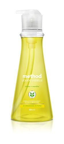 Method Spülmittel Zitrone/Minze, 3Flaschen - Spülmittel-flasche