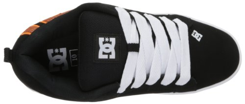 DC Shoes Court Graffik, Chaussures de skate homme Orange