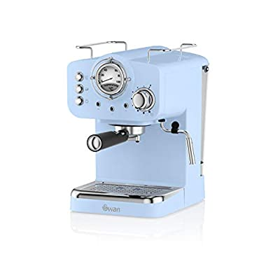 Swan Retro Pump Espresso Coffee Machine