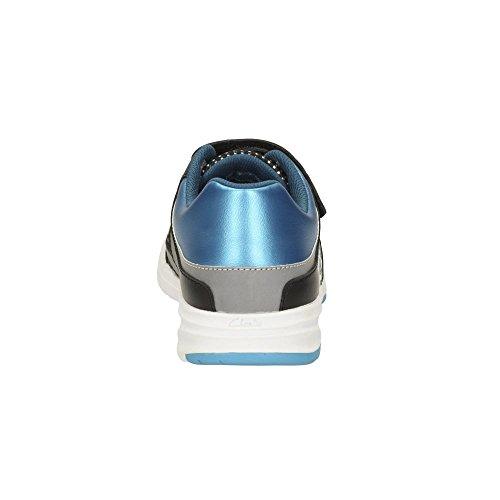 Clarks Allenatori del ragazzo di Gloforms ReflectSpy Inf in Combi blu Blue Combi